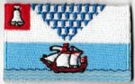 Belfast Embroidered Flag Patch, style 04
